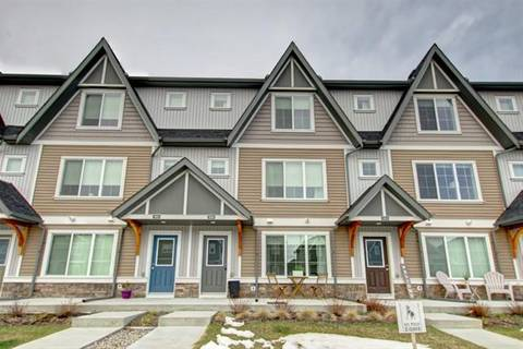 Townhouse for sale at 250 Fireside Vw Unit 1804 Cochrane Alberta - MLS: C4242048