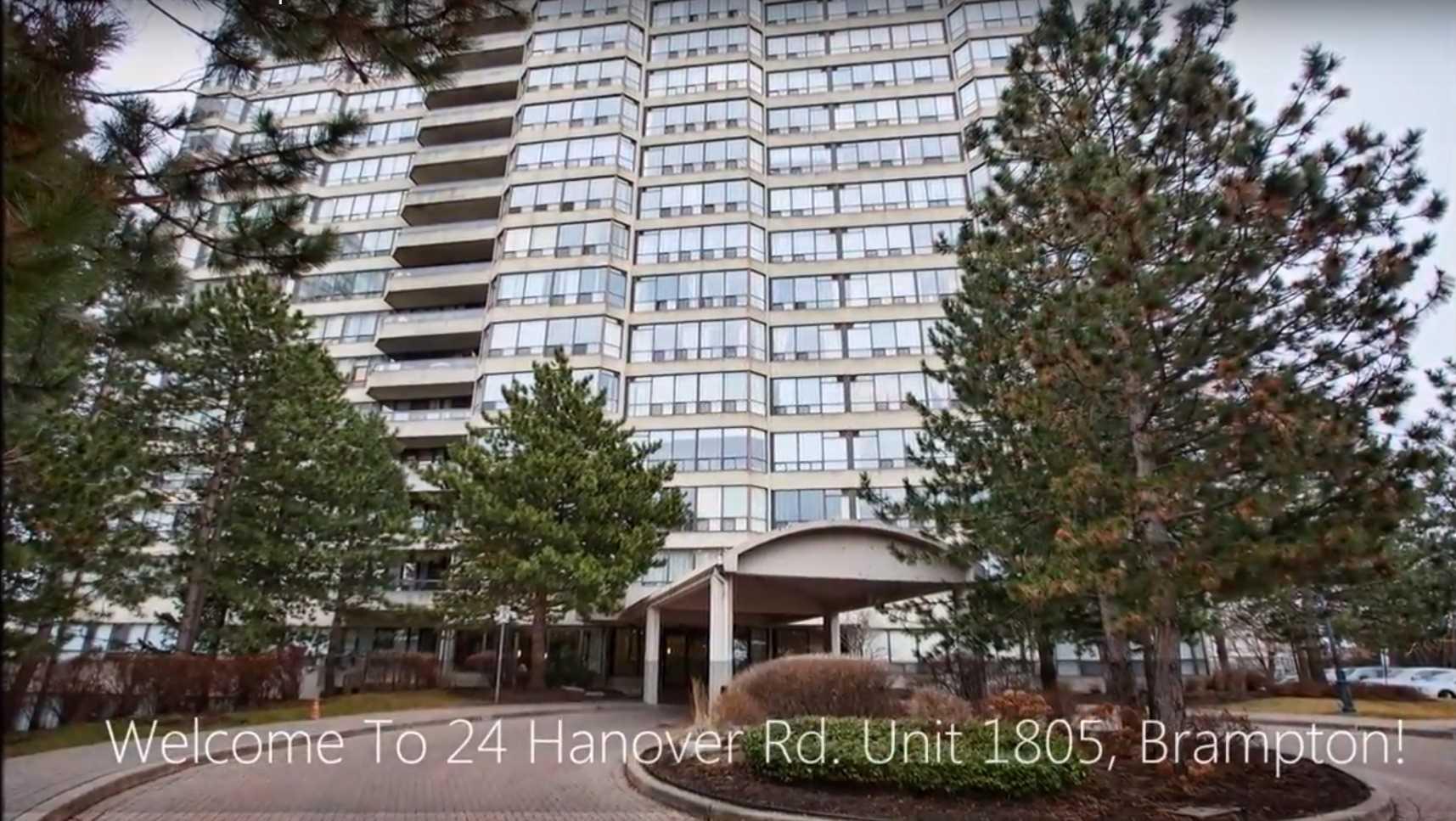 House for sale at 1805-24 Hanover Road Brampton Ontario - MLS: W4309368