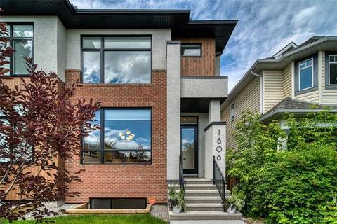 Townhouse for sale at 1806 31 Ave Southwest Calgary Alberta - MLS: C4255034