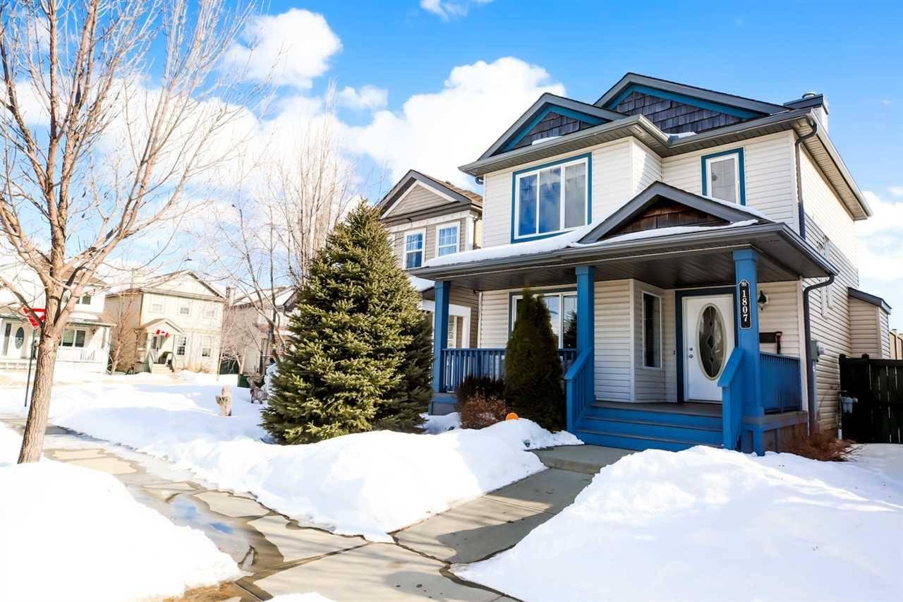 House for sale at 1807 122 St Sw Edmonton Alberta - MLS: E4189626