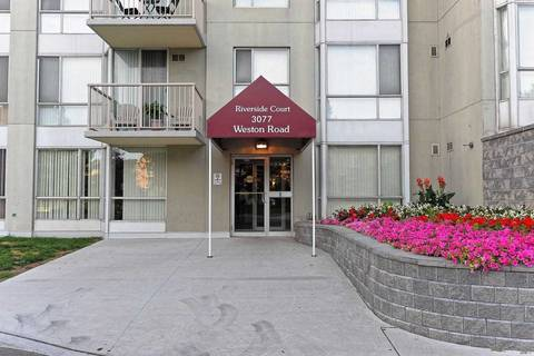 Condo for sale at 3077 Weston Rd Unit 1808 Toronto Ontario - MLS: W4699426