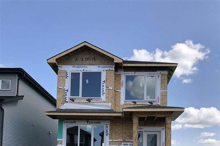 House for sale at 18143 75 St NW Edmonton Alberta - MLS: E4209909