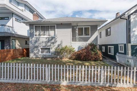 House for sale at 1815 37th Ave E Vancouver British Columbia - MLS: R2403600