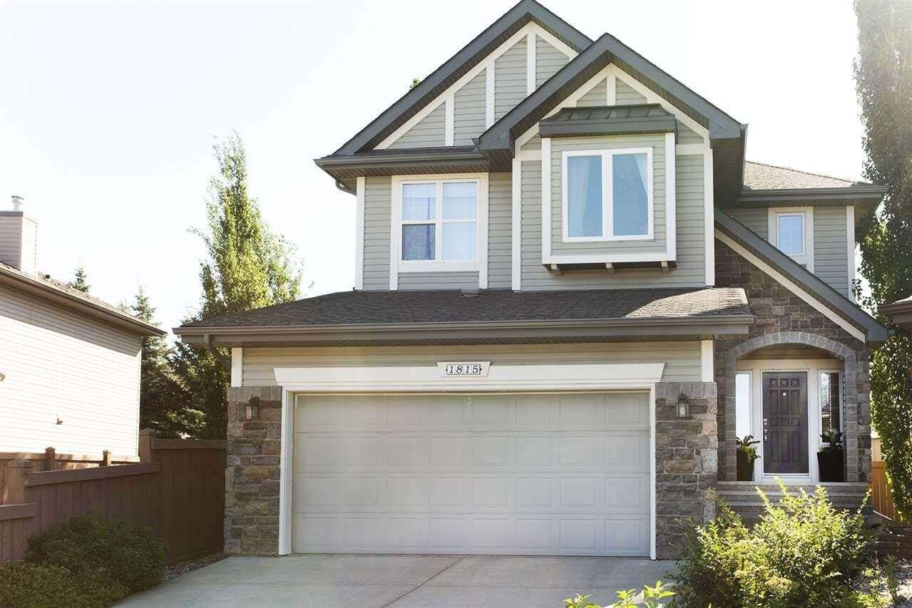 House for sale at 1815 Holman Cr NW Edmonton Alberta - MLS: E4202220