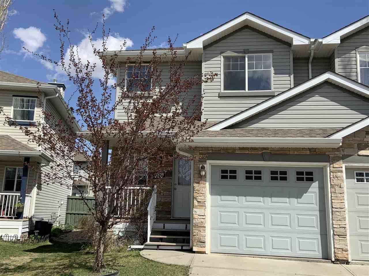 Townhouse for sale at 1819 119 St Sw Edmonton Alberta - MLS: E4157170