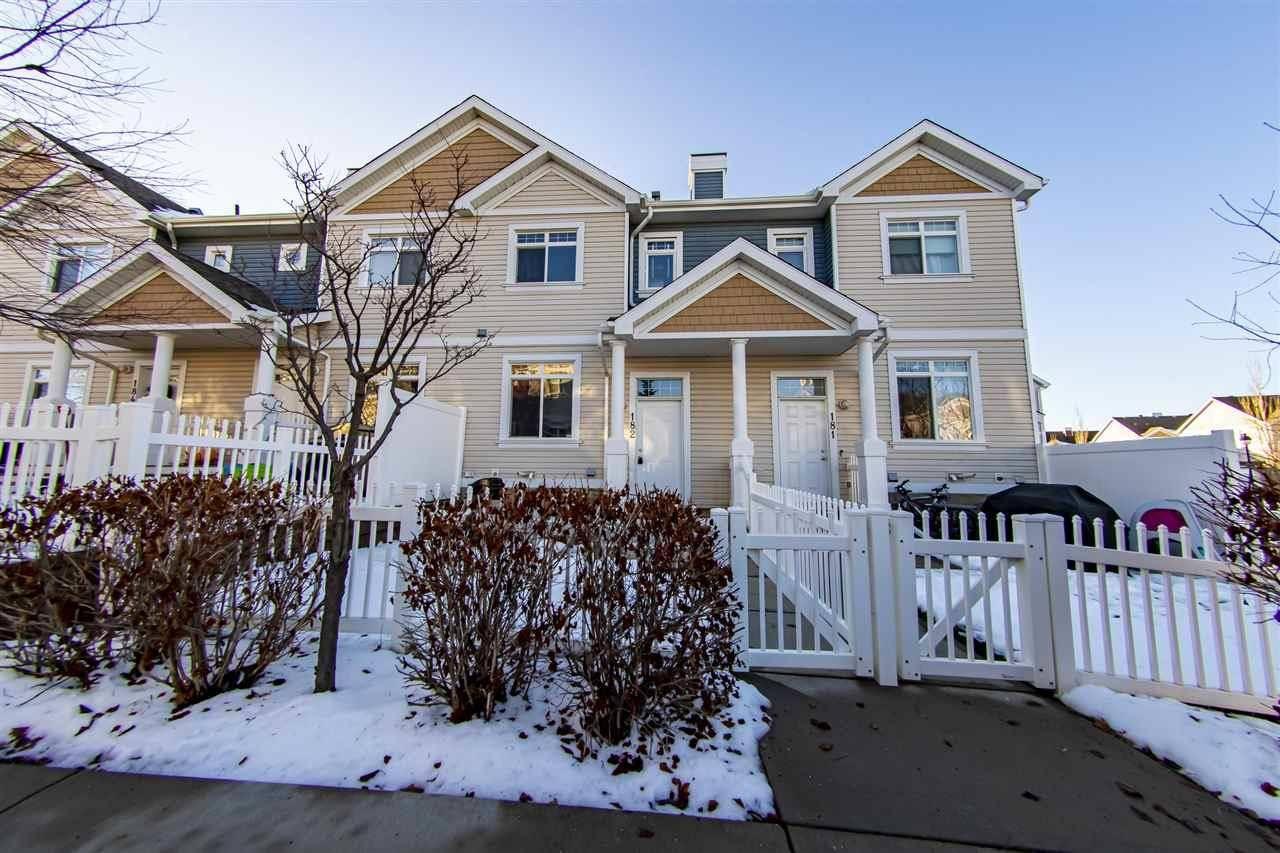 Townhouse for sale at 1804 70 St Sw Unit 182 Edmonton Alberta - MLS: E4180391