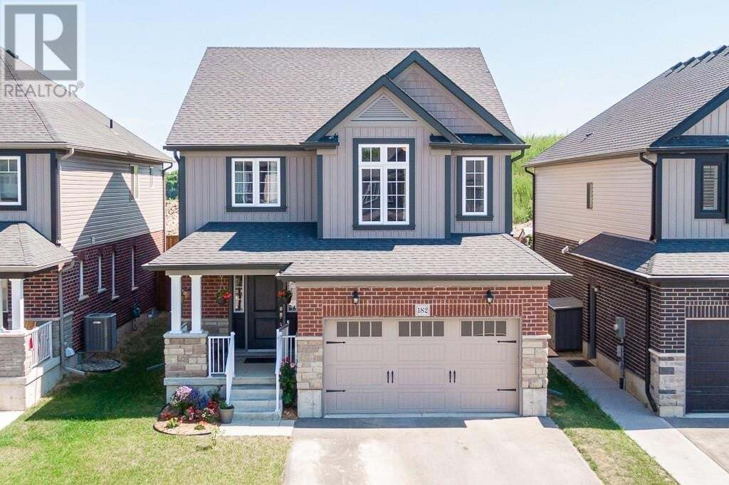 House for sale at 182 Bradshaw Dr Stratford Ontario - MLS: 30819961