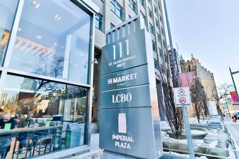 Apartment for rent at 111 St Clair Ave Unit 1820 Toronto Ontario - MLS: C4735417