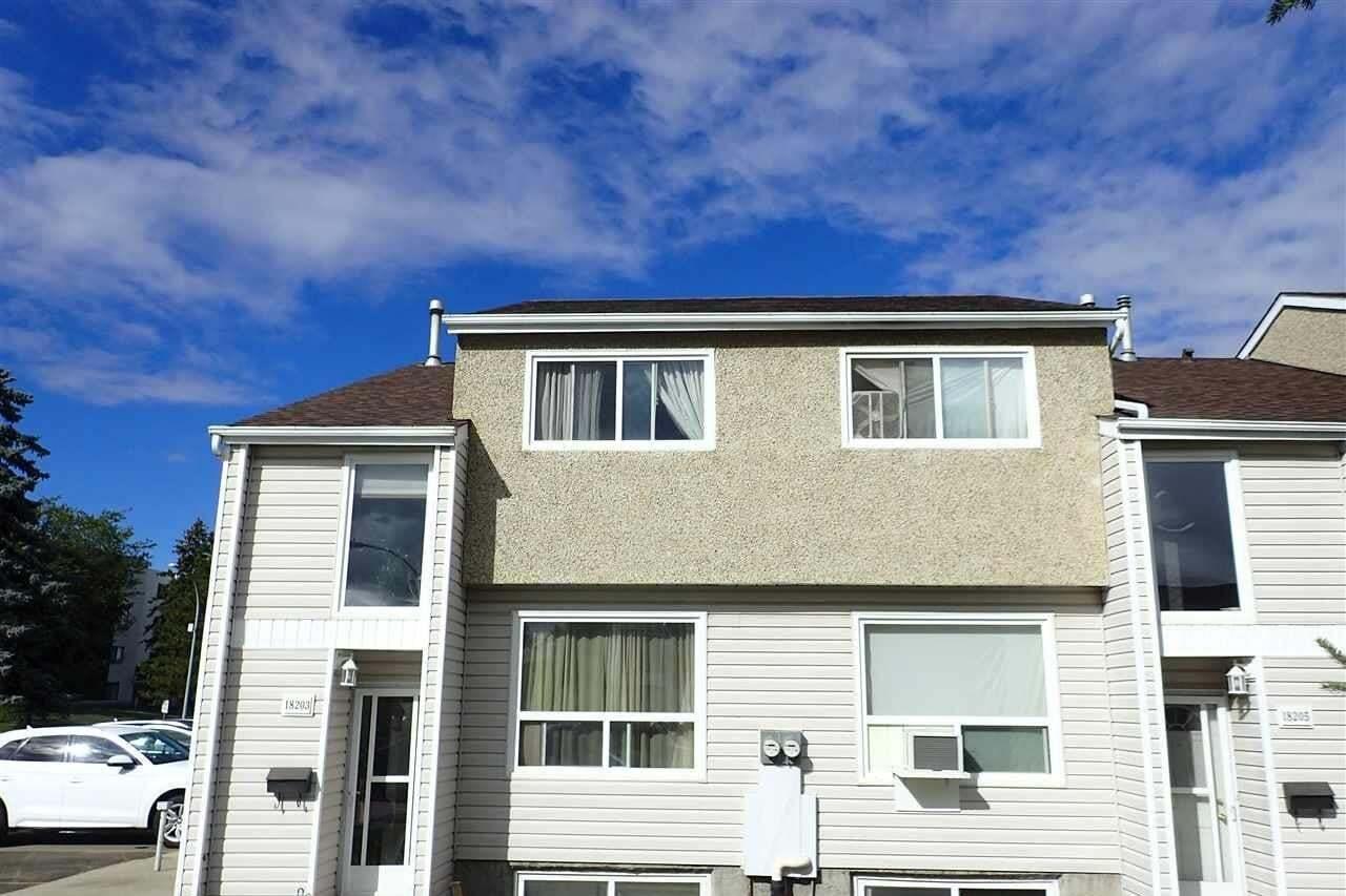 Townhouse for sale at 18203 93 Av NW Edmonton Alberta - MLS: E4212933