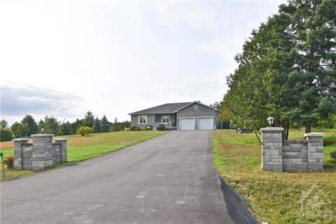 House for sale at 1821 Corkery Rd Ottawa Ontario - MLS: 1210606