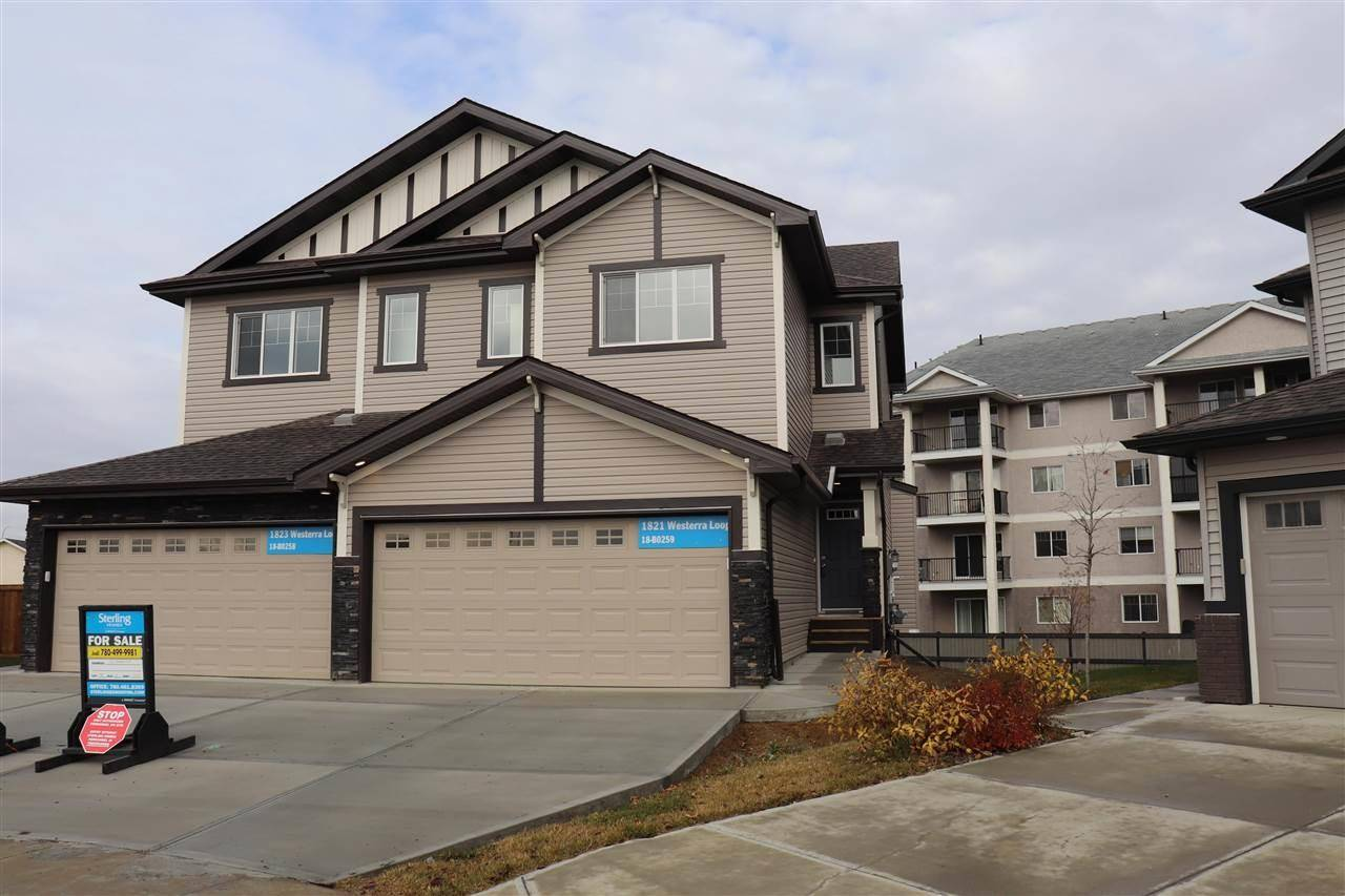 Townhouse for sale at 1821 Westerra Lo  Stony Plain Alberta - MLS: E4192382