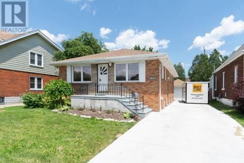 House for sale at 1822 Drouillard  Windsor Ontario - MLS: 19019888