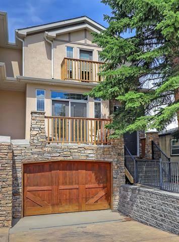 Townhouse for sale at 1822 Westmount Rd Northwest Calgary Alberta - MLS: C4245003
