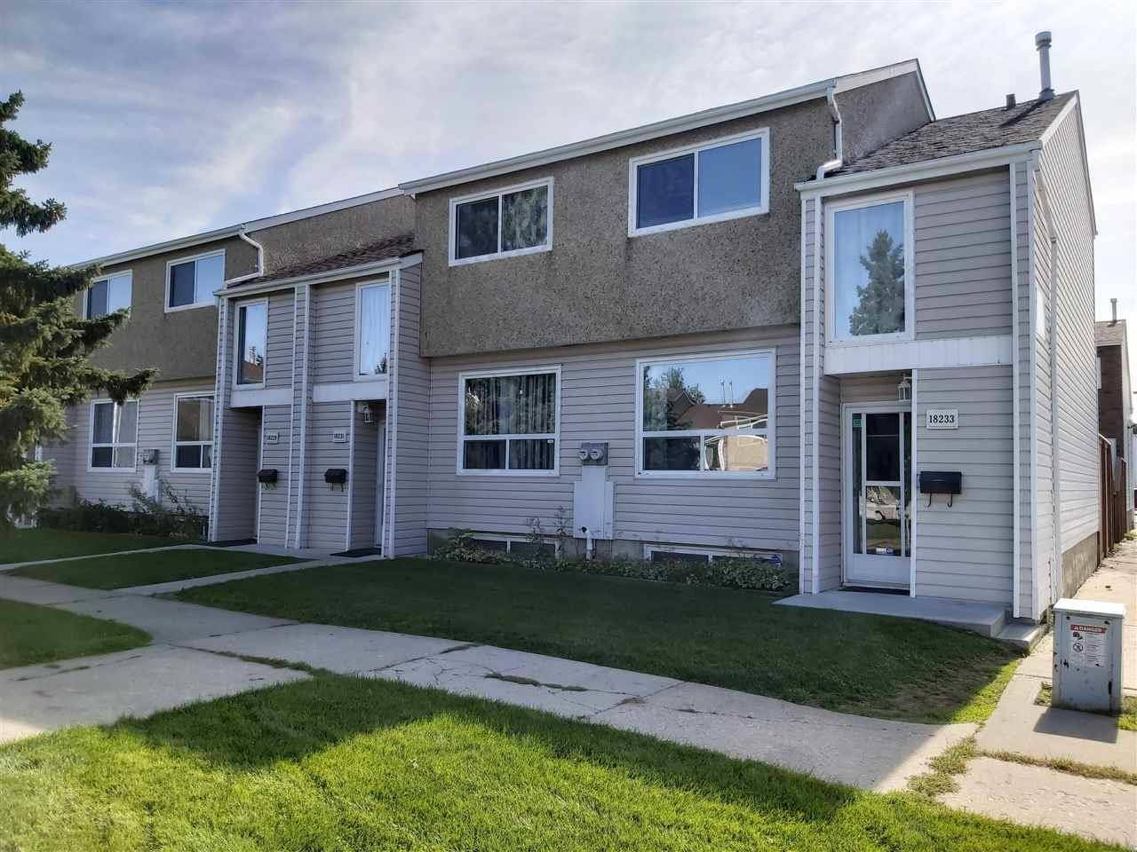 Townhouse for sale at 18233 93 Ave Nw Edmonton Alberta - MLS: E4173861