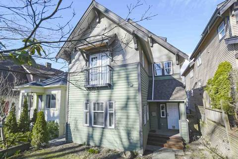 Townhouse for sale at 1827 7th Ave E Vancouver British Columbia - MLS: R2346343
