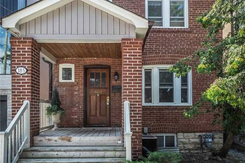 House for rent at 183 Deloraine Ave Toronto Ontario - MLS: C4547045