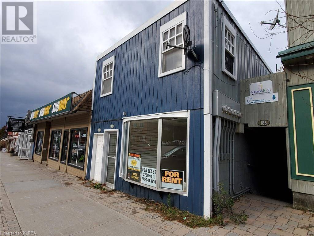Commercial property for lease at 183 Highland St Haliburton Ontario - MLS: 231884