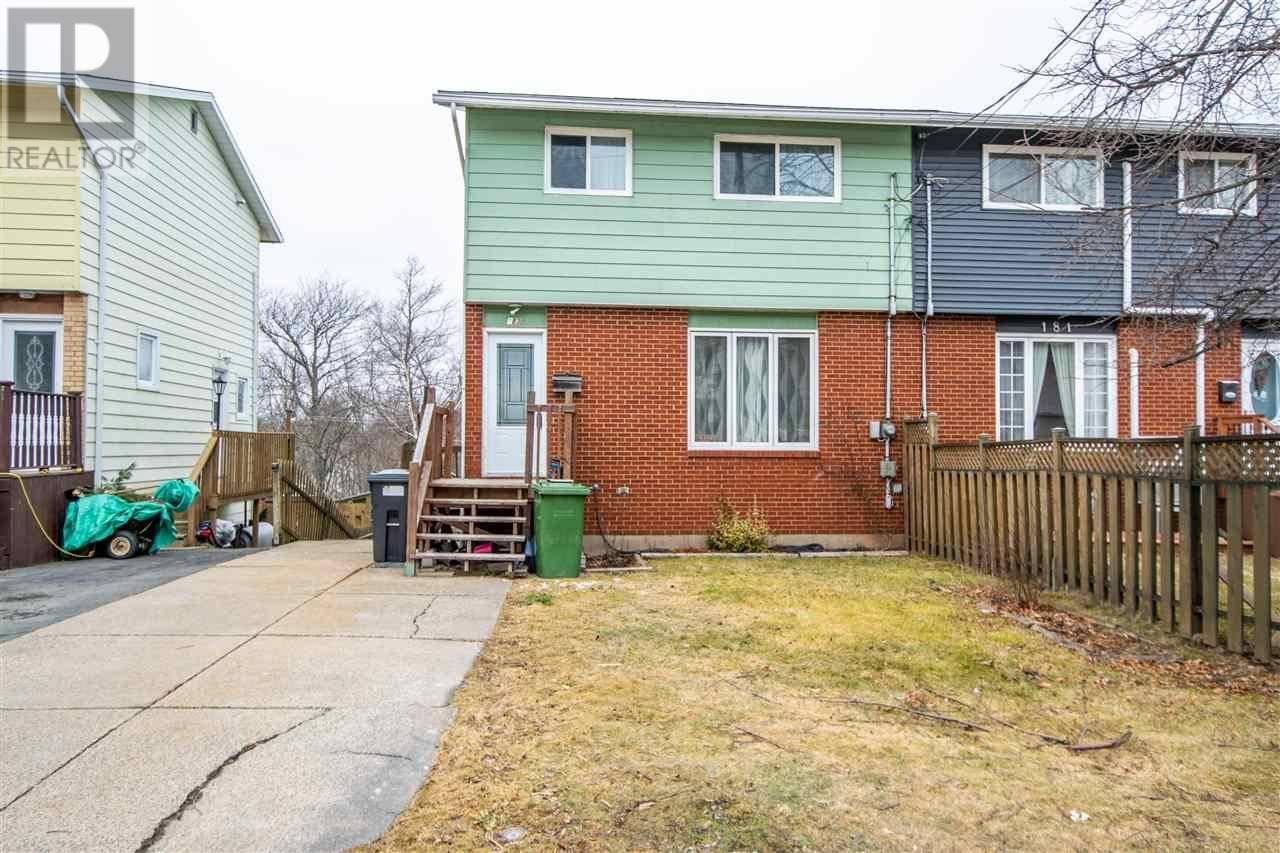House for sale at 183 Poplar Dr Cole Harbour Nova Scotia - MLS: 202004815
