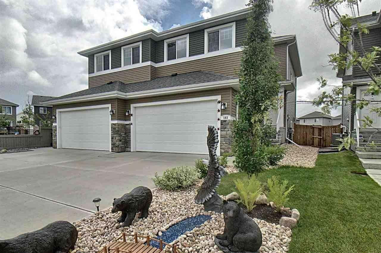 Townhouse for sale at 183 Reed Pl Leduc Alberta - MLS: E4204613