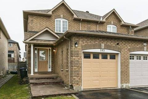 Townhouse for sale at 183 Tiller Tr Brampton Ontario - MLS: W4735065