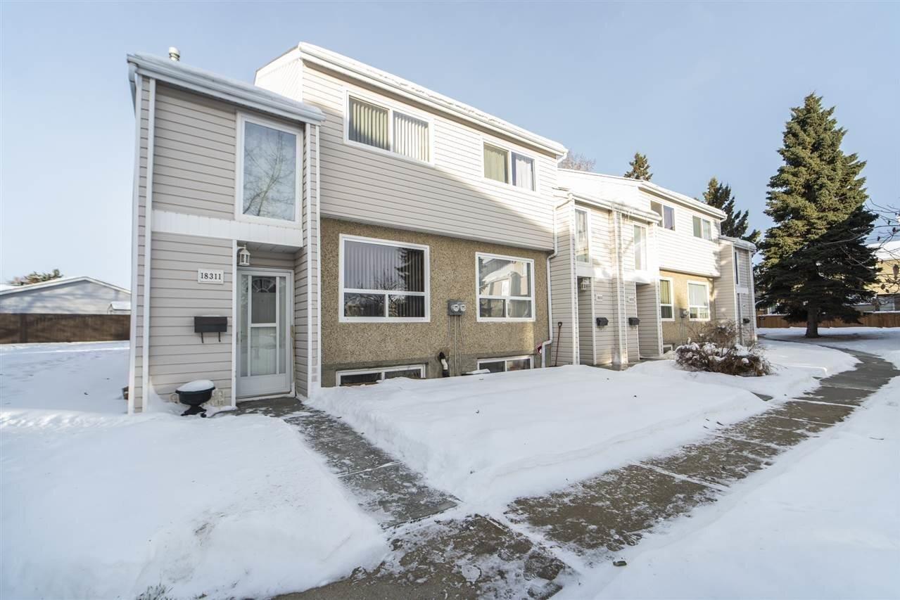Townhouse for sale at 18311 93 Av NW Edmonton Alberta - MLS: E4222007