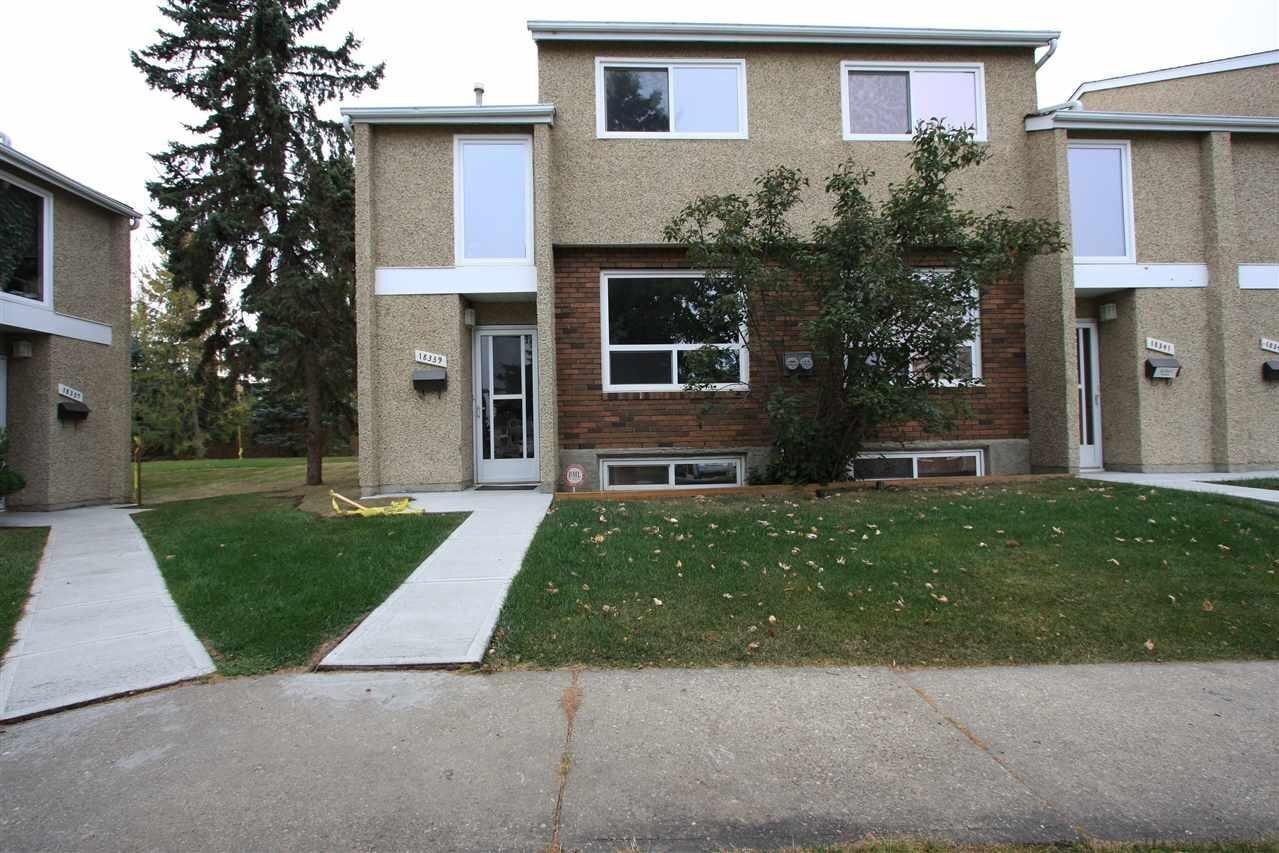 Townhouse for sale at 18339 93 Av NW Edmonton Alberta - MLS: E4218251