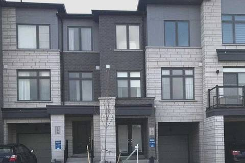Townhouse for sale at 184 Tango Cres Newmarket Ontario - MLS: N4642064