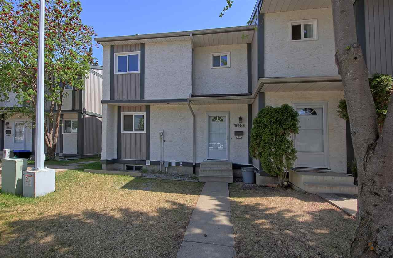 For Sale: 18410 62b Avenue, Edmonton, AB | 3 Bed, 2 Bath Townhouse for $191,900. See 17 photos!