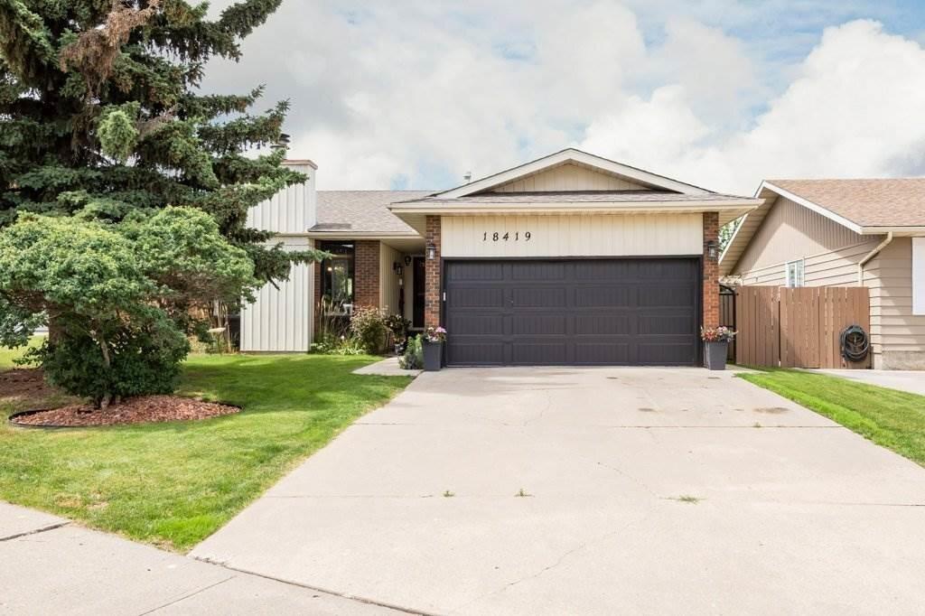 House for sale at 18419 62b Av NW Edmonton Alberta - MLS: E4217131