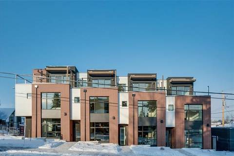 Townhouse for sale at 1846 38 Ave Southwest Calgary Alberta - MLS: C4281842