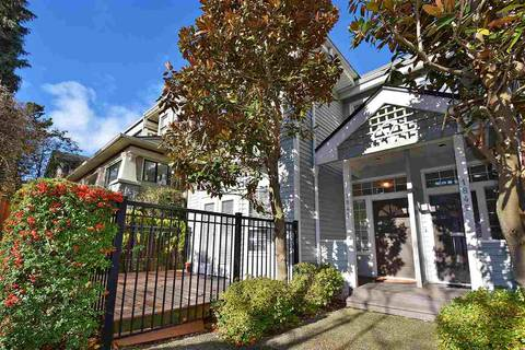 Townhouse for sale at 1847 12th Ave W Vancouver British Columbia - MLS: R2362101