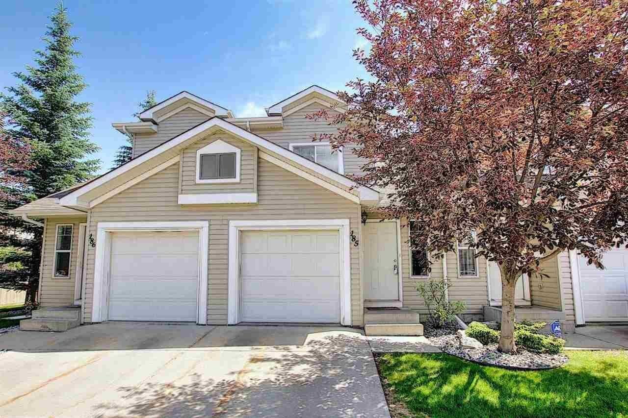 Townhouse for sale at 150 Edwards Dr SW Unit 185 Edmonton Alberta - MLS: E4205190
