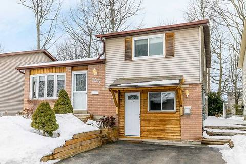 House for sale at 185 Burns Circ Barrie Ontario - MLS: S4689154