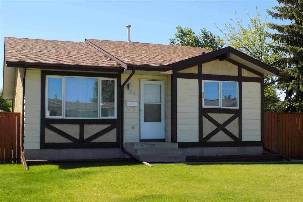 House for sale at 185 Garnet Cres Wetaskiwin Alberta - MLS: E4201141