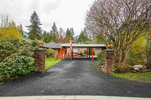 House for sale at 1850 Peters Rd North Vancouver British Columbia - MLS: R2360971
