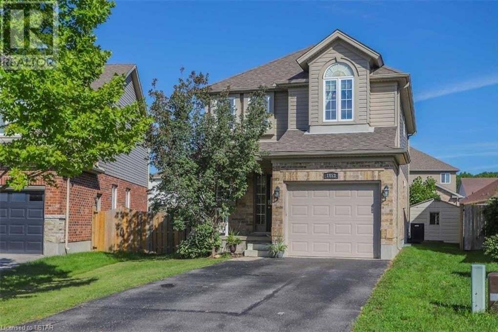 House for sale at 1853 Waterwheel Pl London Ontario - MLS: 40005687