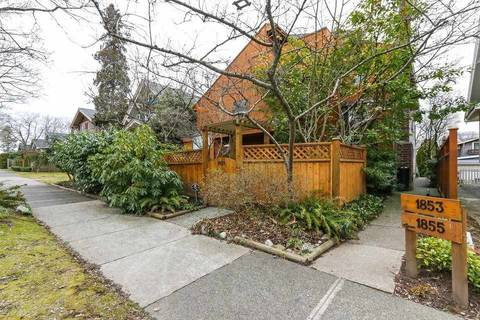 Townhouse for sale at 1855 13th Ave W Vancouver British Columbia - MLS: R2348214