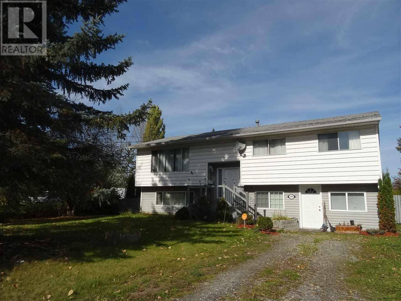 House for sale at 1858 Dogwood Ave Quesnel British Columbia - MLS: R2387620