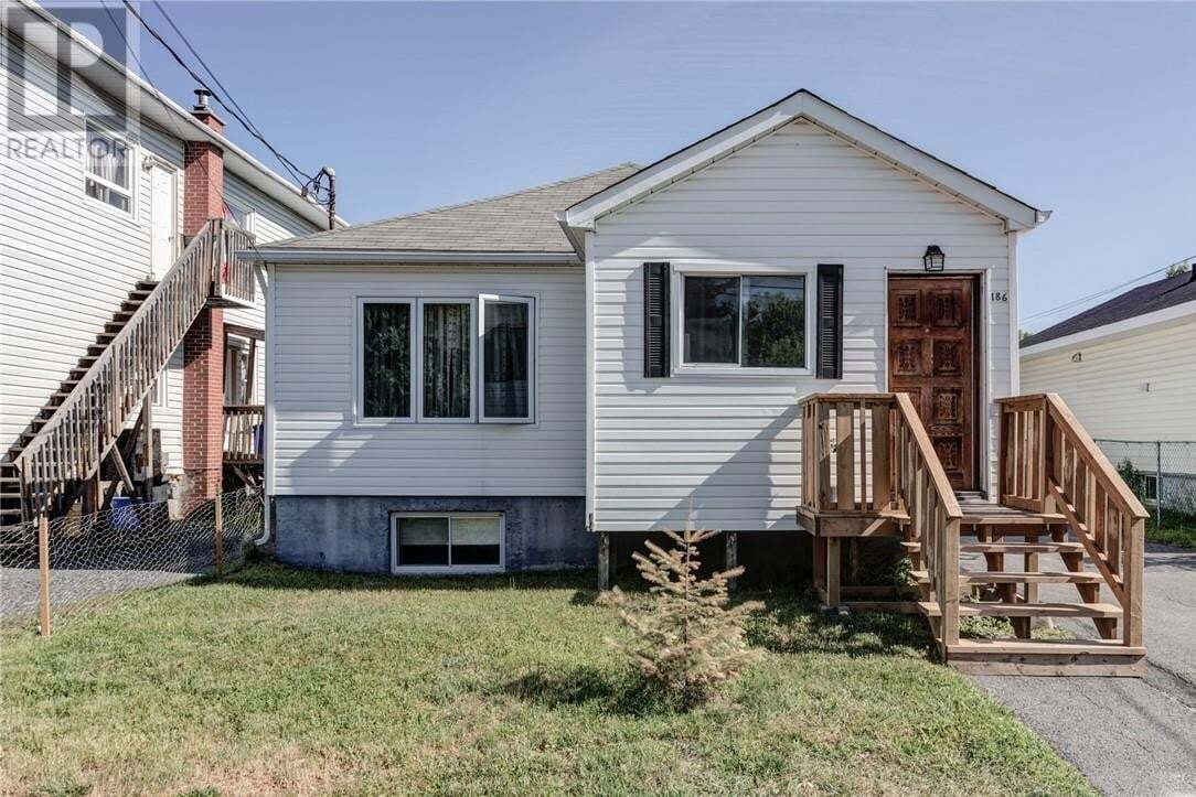 House for sale at 186 Dell St Greater Sudbury Ontario - MLS: 2087095