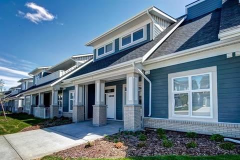 Townhouse for sale at 186 Silverado Plains Pk Southwest Calgary Alberta - MLS: C4271734
