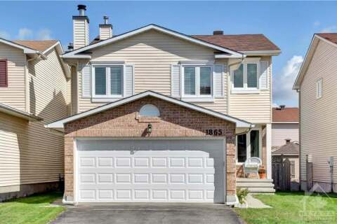 House for sale at 1865 Leclair Cres Ottawa Ontario - MLS: 1211399