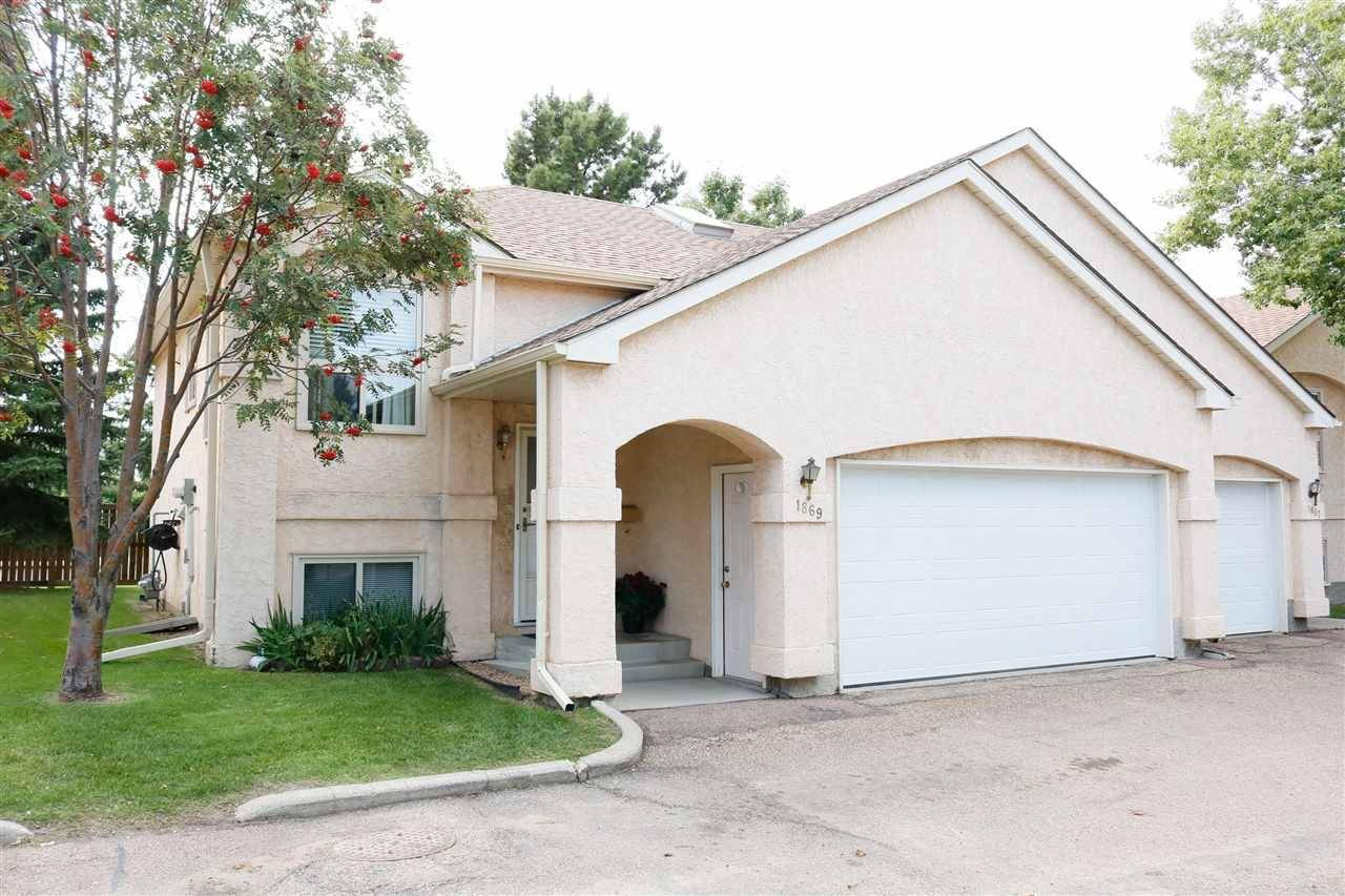 Townhouse for sale at 1869 Mill Woods Rd Nw Edmonton Alberta - MLS: E4171207
