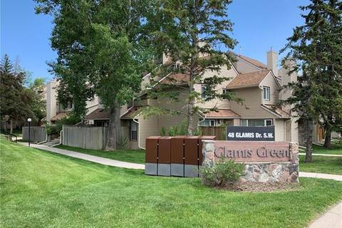 Townhouse for sale at 87 Glamis Green Southwest Unit 187 Calgary Alberta - MLS: C4245641