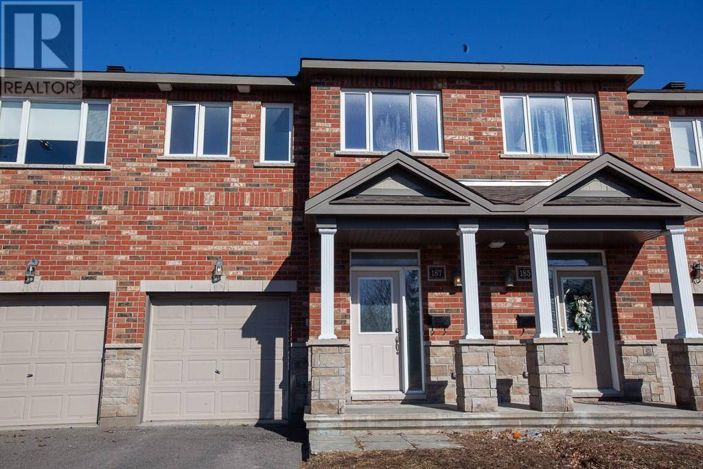 Townhouse for sale at 187 Claridge Dr Ottawa Ontario - MLS: 1187068