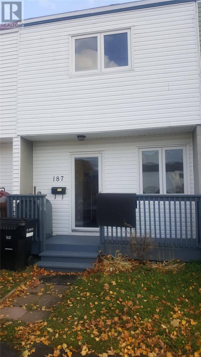 House for sale at 187 Doyle St St. John's Newfoundland - MLS: 1205521