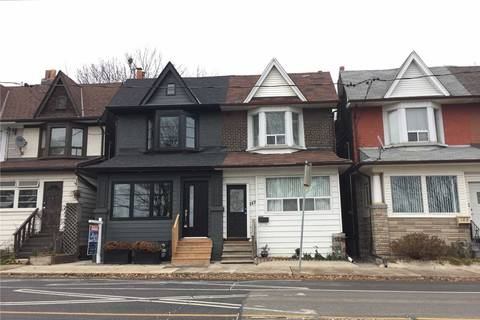Townhouse for sale at 187 Greenwood Ave Toronto Ontario - MLS: E4423884
