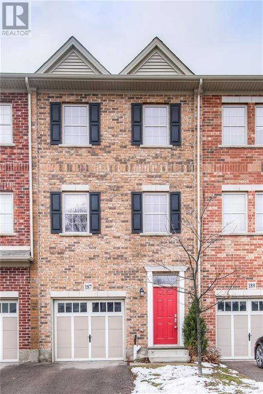 Townhouse for sale at 187 St Leger St Kitchener Ontario - MLS: 30779193