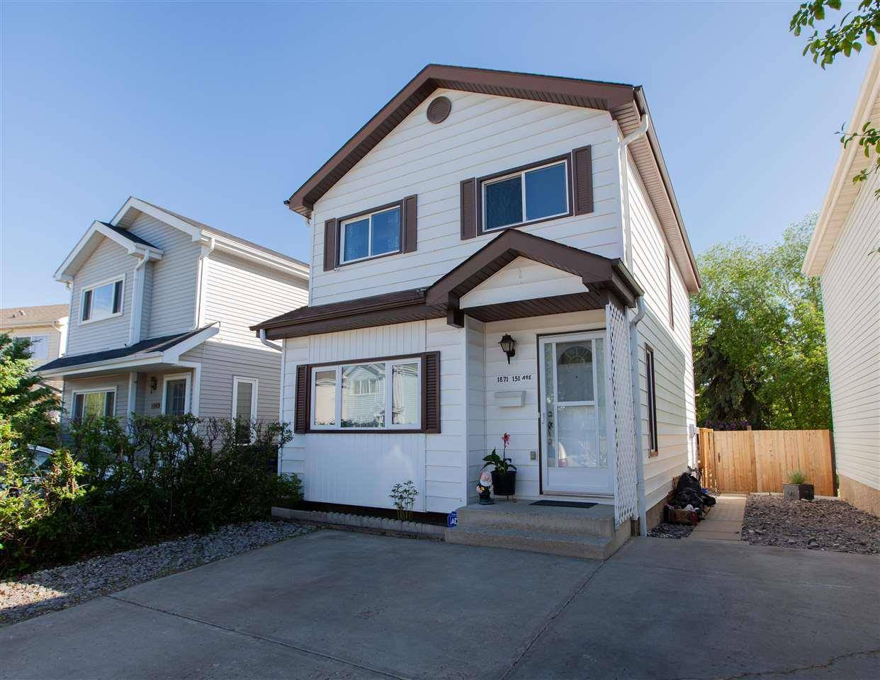 House for sale at 1871 151 Ave Nw Edmonton Alberta - MLS: E4160477