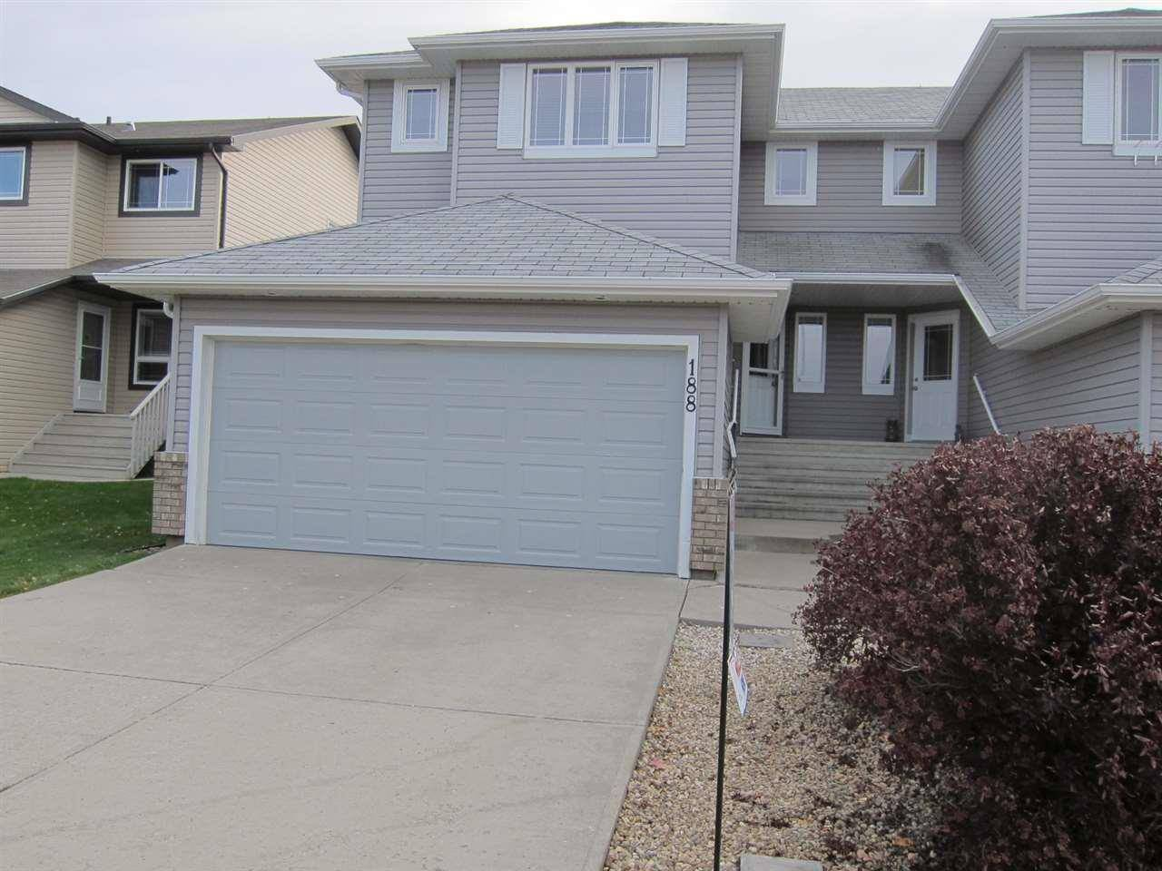Townhouse for sale at 188 Brookview Wy Stony Plain Alberta - MLS: E4189477