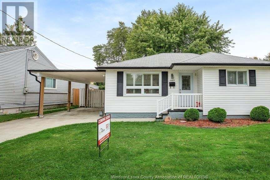 House for sale at 1883 Jefferson  Windsor Ontario - MLS: 20012940